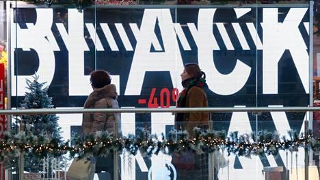Black Fridaysta on tullut suuri kansainvälinen ostospäivä.