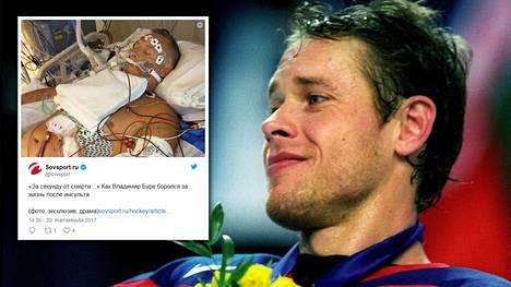 Entisen tähtikiekkoilijan Pavel Buren perhettä kohtasi kesällä suuri suru.
