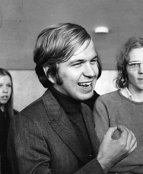 Erkki Liikanen vuonna 1970.