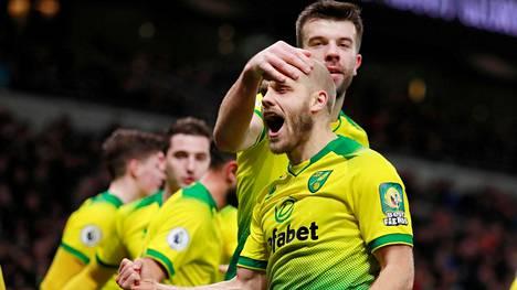 Teemu Pukki on tehnyt Norwichille jo 11 valioliigamaalia tällä kaudella.