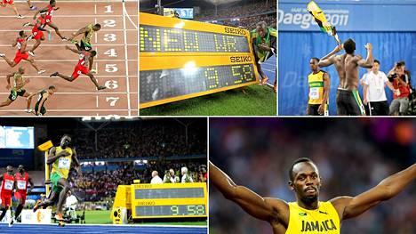 Usain Bolt hakee MM-kultaa tänä iltana Lontoossa.