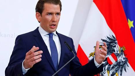 Itävallan liittokansleri Sebastian Kurz.