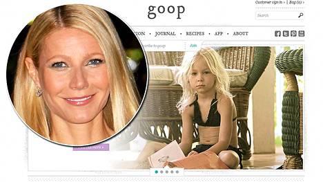 Gwyneth Paltrown myy kuvanlaisia bikineitä jopa 4-vuotiaille lapsille.