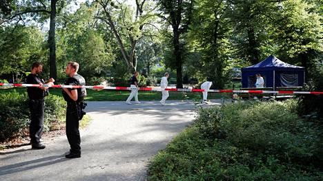 Tshetsheenimies ammuttiin Moabitin kaupunginosassa Berliinissä 23. elokuuta.