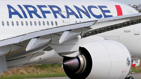 Air France Airbus A350 -matkustajakone kuvattuna Ranskan Toulousessa.