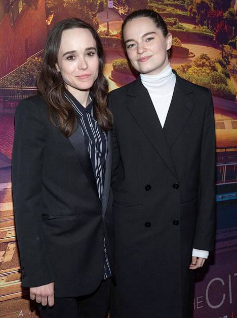 Elliot Page ja Emma Portner avioituivat vuonna 2018.