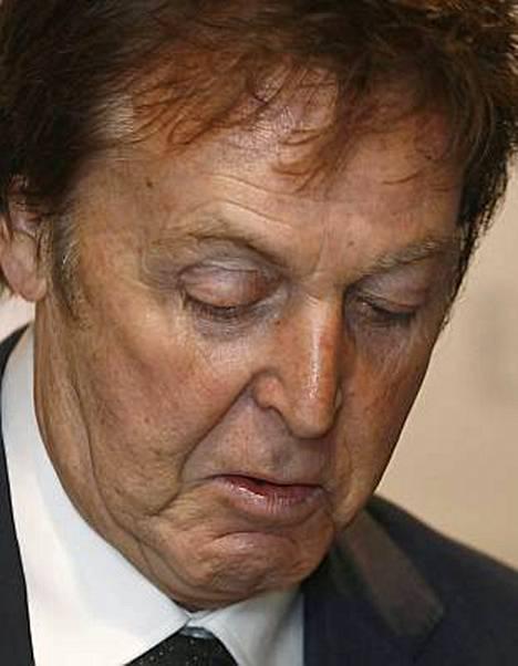 Paul McCartney on herkkä mies.