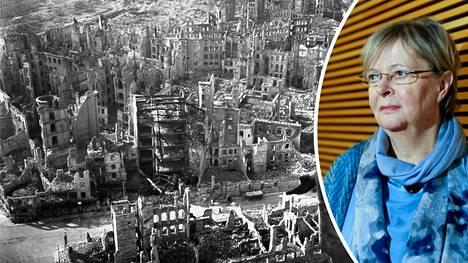 Liisa Jaakonsaari paheksui Twitterissä, että liittoutuneet pommittivat Dresdenia vielä sen jälkeen, kun toinen maailmansota oli jo päättynyt. Moni ei ymmärtänyt Jaakonsaaren twiittiä, koska liittoutuneet pommittivat Dresdeniä 13.–15. helmikuuta 1945, ja sota Euroopassa päättyi toukokuussa.