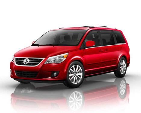 VW Routan eli uudelleen nimetty Chrysler.
