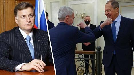 Vjatsheslav Makarov toimii Pietarin lakiasäätävän kokouksen puhemiehenä. Pekka Haaviston ja Sergei Lavrovin maanantaisen tapaamisen jälkipyykki jatkuu Venäjällä.