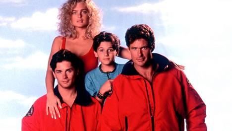 Erika Eleniak, Billy Warlock, Jeremy Jackson ja David Hasselhoff.