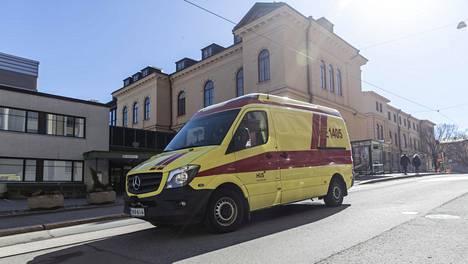 Muun muassa Helsingin kirurgisessa sairaalassa on hoidettu koronapotilaita.