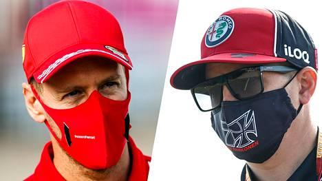Sebastian Vettelin lähtöä Ferrarilta kesken kauden pidetään täysin mahdollisena. Astuuko tähän kuvioon Kimi Räikkönen?