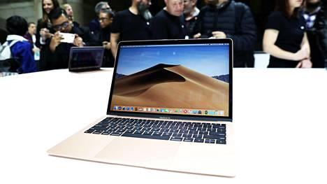 Applen lokakuun lopussa julkaisemassa MacBook Air -kannettavassa on uusi T2-turvasiru.
