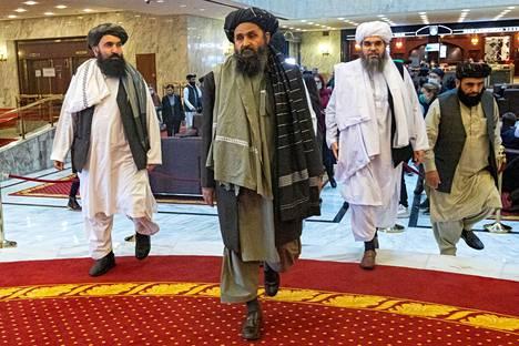 Abdul Ghani Baradar on edustanut Talebania järjestön toimistossa Qatarissa.