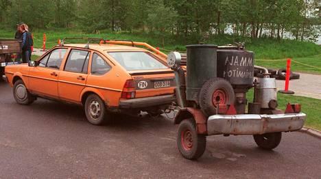 Valtiontukea perinteisesti saanut auto- ja tieliikennemuseo Mobilia on järjestänyt muun muassa häkäpönttöautojen kokoontumisen.