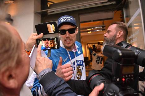 Marko Anttila oli kultaleijonien juhlituin sankari viime toukokuussa.