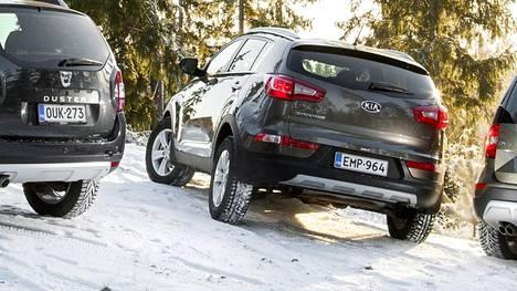 Talviolosuhteiden ohella myös Suomen Lapin puhdas ilma saattaa tulla joillekin autoilijoille yllätyksenä.