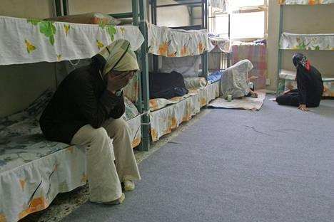 Naisvankeja Evinin vankilassa Teheranissa.
