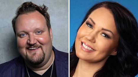 Sami Hedberg ja Saija Tuupanen ovat seurustelleet muutamia kuukausia.