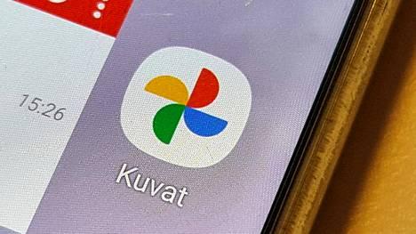 Google Kuvat -sovellus löytyy useimmista Android-puhelimista.