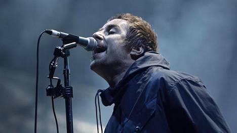 Liam Gallagher  esiintyi lauantaina ensimmäistä kertaa Helsingissä.