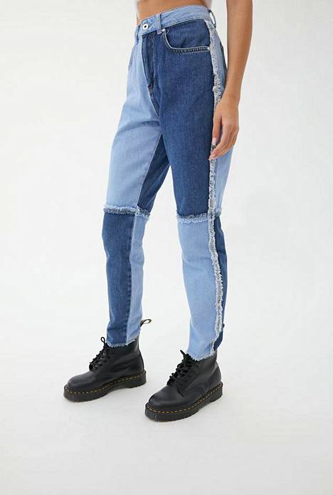 The Ragged Priest Quarter Panel Mom Jean -farkut, Urban Outfitters, 74 €.