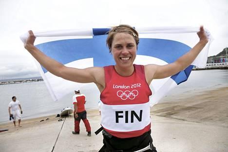 Tuuli Petäjä-Sirénin täysosumavuosi päättyi Lontoon olympiahopeaan.