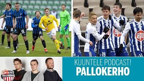 Inter, KuPS, HJK ja Honka aloittivat kautensa viime viikonloppuna.