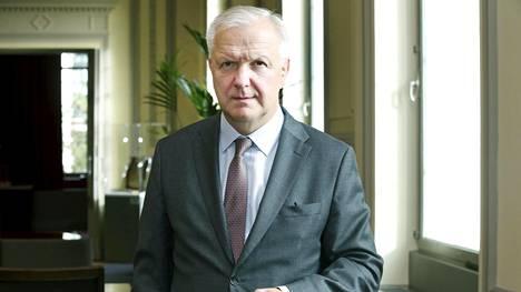 Olli Rehn huomauttaa, että lainakatto on vain yksi lääke velkaantumiselle. Se ei ratkaise esimerkiksi kasvavaa taloyhtiölainojen ja kulutuslottojen ongelmaa.