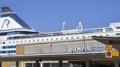 Tapaus sattui Helsingin Olympiaterminaalin edustalla.