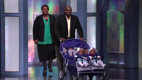 Koko perhe vieraili Oprah Winfrey Show -ohjelmassa vuonna 2011, kun Rozonno ja Mia McGheen kuuluisat kuutoslapset olivat yksivuotiaita.