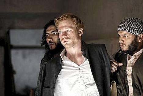 Australiasnäyttelijä Sebastian Reid esittää prinssi Harrya kiistellyssä filmissä.