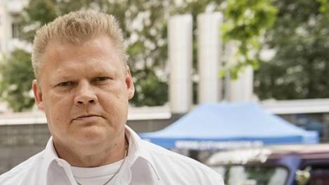 """Lauri Johansson osallistui viime elokuussa Helsingin Sörnäisten """"Piritorilla"""" järjestettyyn Ex-Criminal Day -tapahtumaan."""