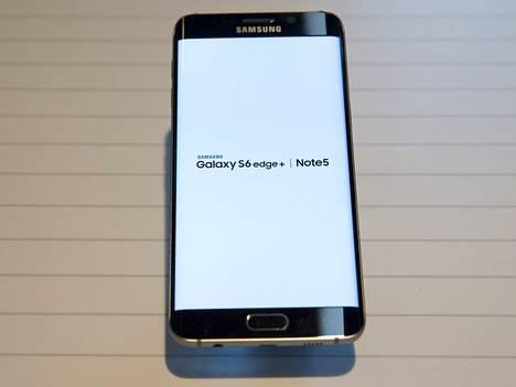 Galaxy S6 Edge+ kuuluu niihin älypuhelimiin, jotka tukevat Samsung Pay -maksusovellusta.