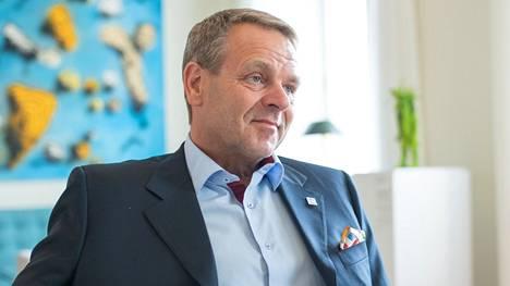 Jan Vapaavuorella on edessään viimeiset päivät Helsingin pormestarina. Ne hän viettää Tokion olympialaisissa.