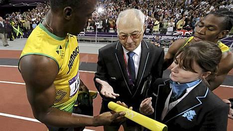 Usain Bolt saikin kapulan lopulta itselleen.