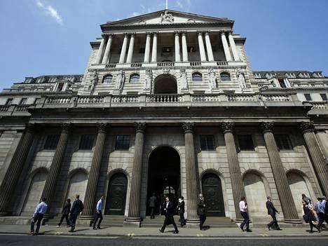 Englannin keskuspankki.