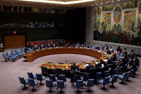 YK:n turvallisuusneuvosto kokoontui tiistai-iltana hätäkokoukseen Pohjois-Korean ohjuslaukaisun vuoksi.