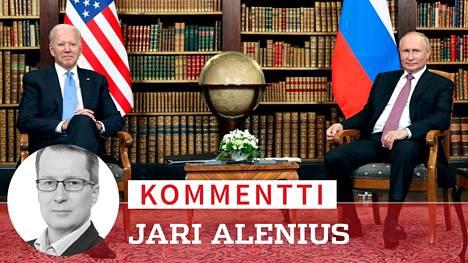 Joe Biden ja Vladimir Putin aloittivat tapaamisensa Genevessä.