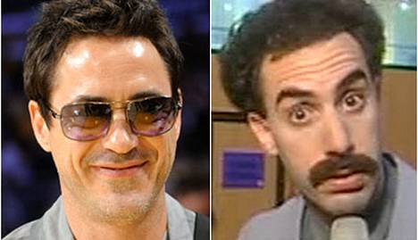 Kumpi on parempi Sherlock: Robert Downey Jr. vai Borat?