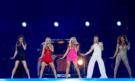 Spice Girls esiintyi viimeksi Lontoon olympialaisissa vuonna 2012.