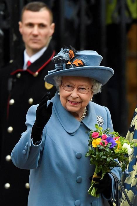 Tältä kuningatar näytti vielä maaliskuussa 2020, juuri ennen koronapandemian puhkeamista.