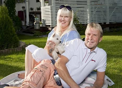 Pia ja Matti Nykänen asuivat Lappeenrannassa.