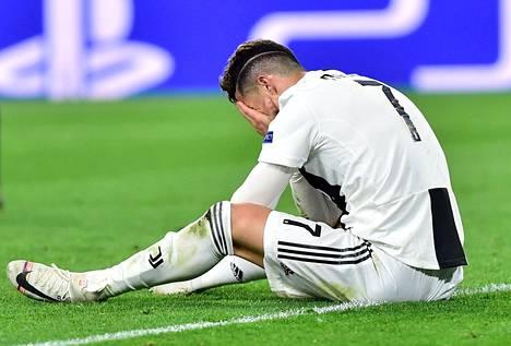 Cristiano Ronaldo joutui pettymään.