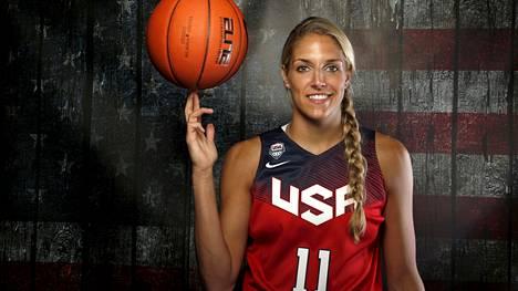 WNBA:ssa Chicago Skyta ja Washington Mysticsiä edustanut Elena Delle Donne on voittanut Yhdysvaltojen maajoukkueessa olympiakultaa Riossa 2016 ja MM-kultaa Espanjassa 2018.