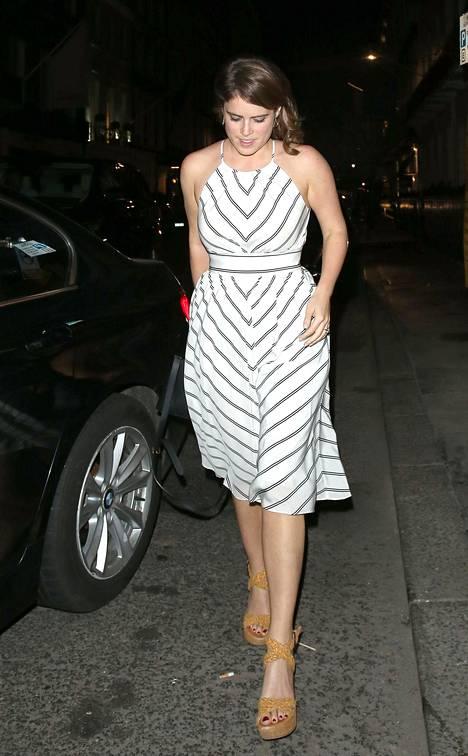 Prinsessa Eugenie pukeutuu usein viehättävän arkisesti.