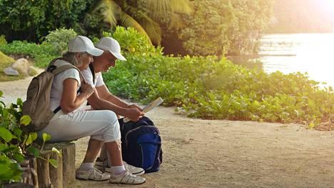 Eläkkeellä on eri tavalla aikaa matkustaa, kuin työelämässä.