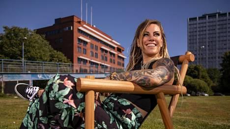 Eva Wahlström odottaa lasta.