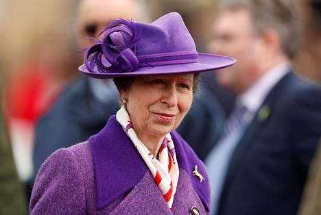 Prinsessa Anne työskenteli viime vuonna edustustehtävissä yhteensä 165 päivää.